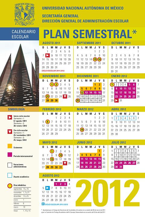 2012 Fechas Fechas de Verificacion 2012