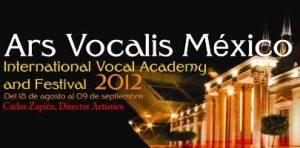 Ars vocalis mexico 2012