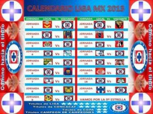 calendario cruz azul - CalendarioLaboral.com.mx