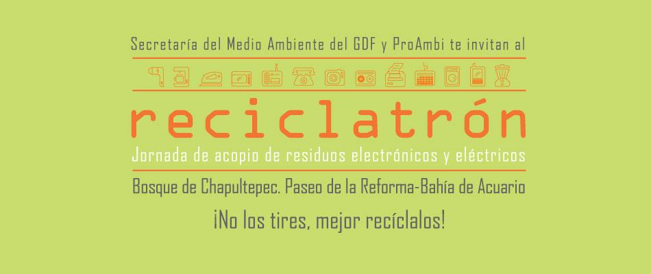 Calendario Reciclatrón 2017
