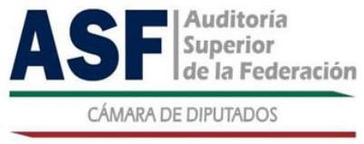 Días Inhábiles de la Auditoría Superior de la Federación 2019