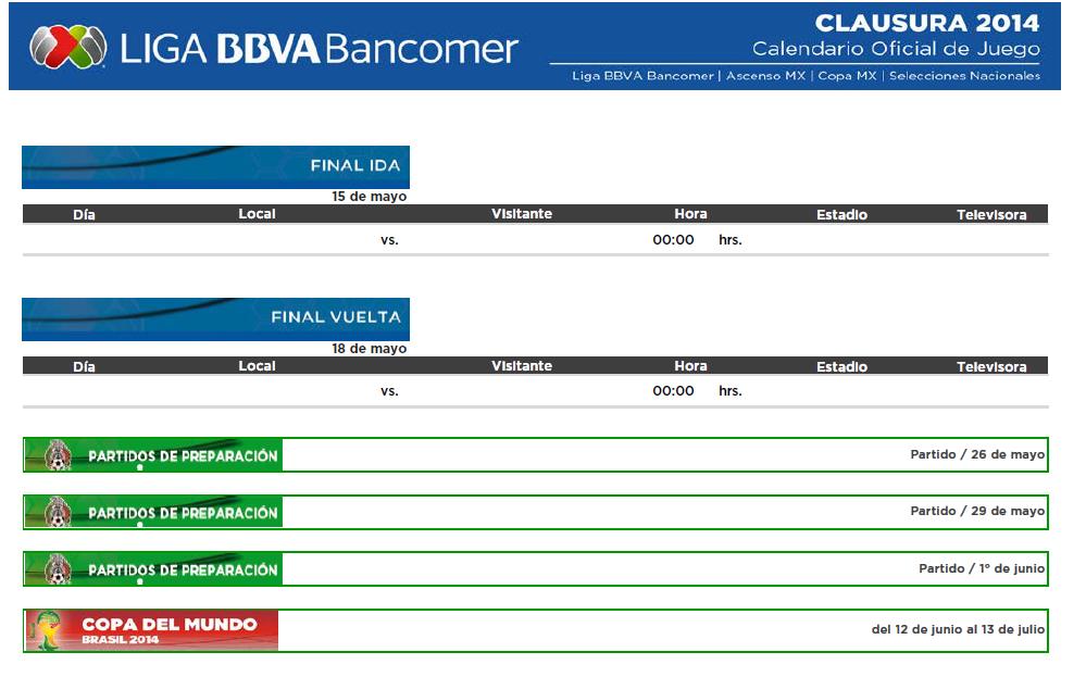 Liga BBVA MX 11
