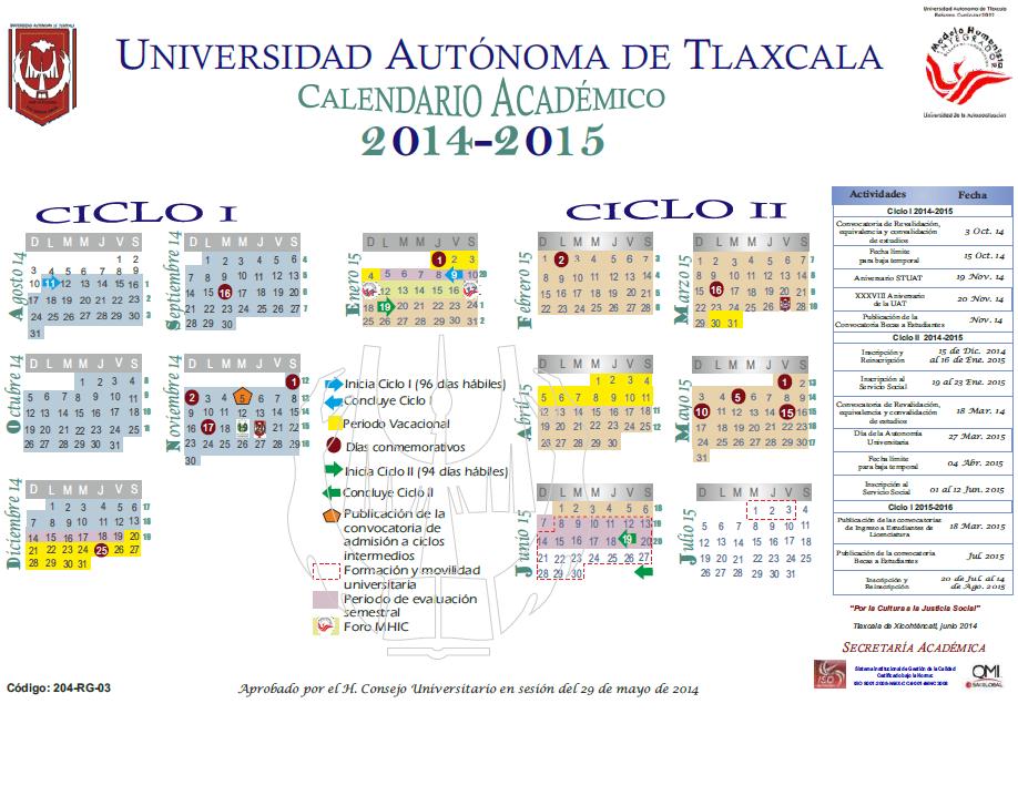 uatx 2014-2015