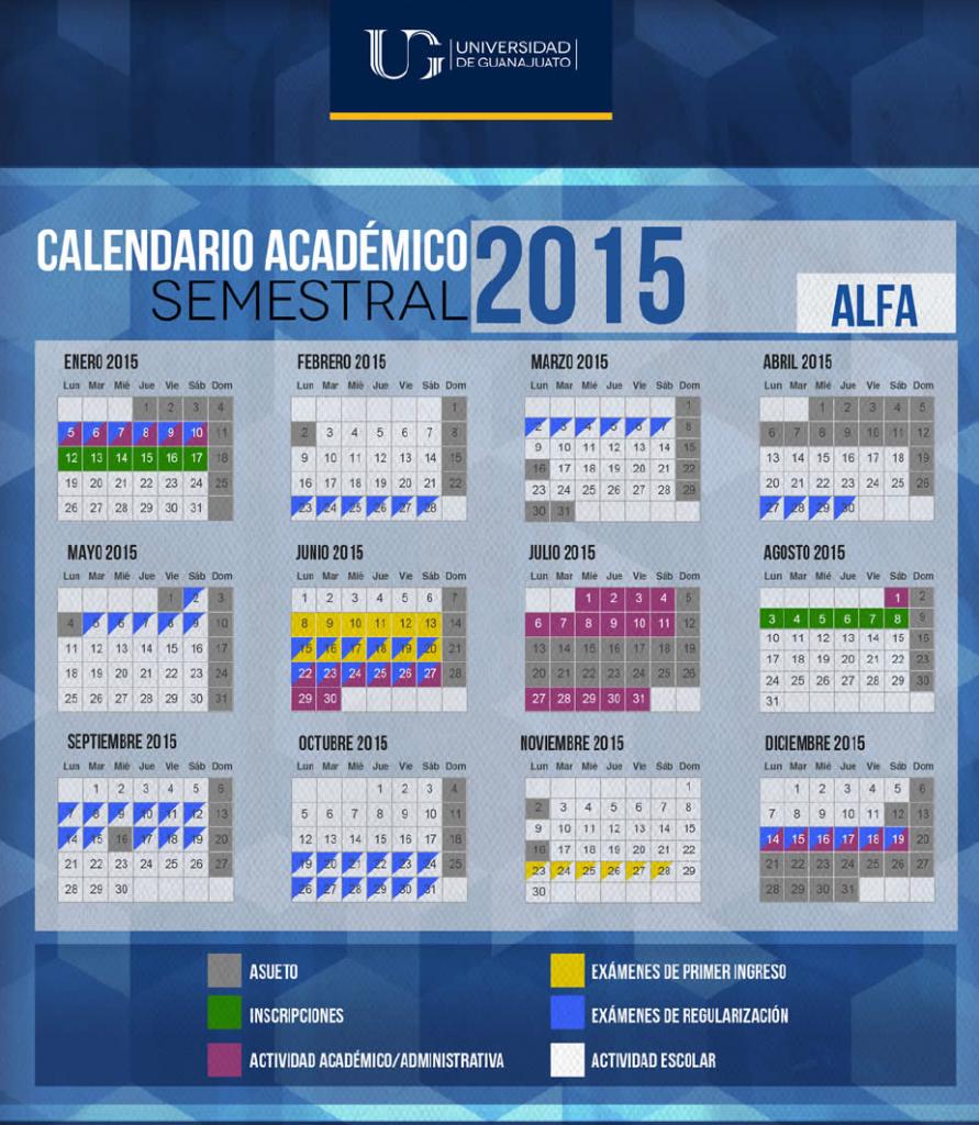 ugto calendario 2015