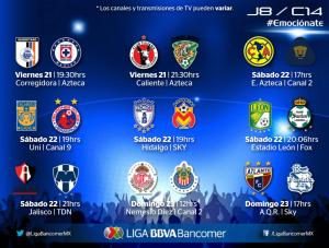 jornada 8 clausura 2014 liga mx