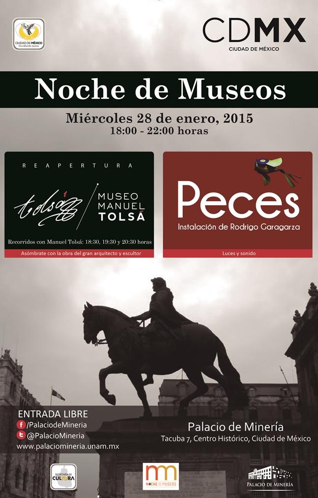 Noche de Museos Tolsa Peces