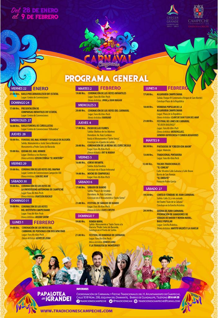 carnaval campeche 2016