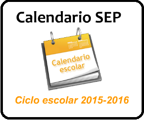 Calendario Escolar SEP 2015-2016