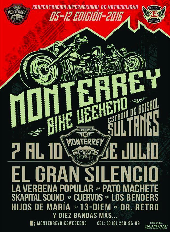 bike weekend monterrey 2016