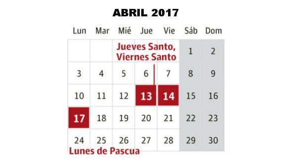 Calendario Semana Santa 2019 Sevilla 13